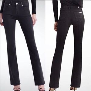 7 For All Mankind Size 28 Bootcut Black Je…